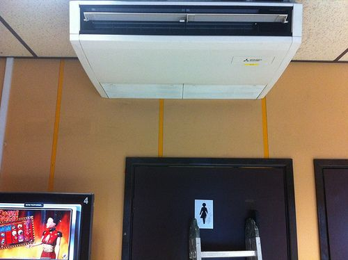 Mitsubishi Electric Pca Rp50 5kw Under Ceiling Suspended Heat Pump