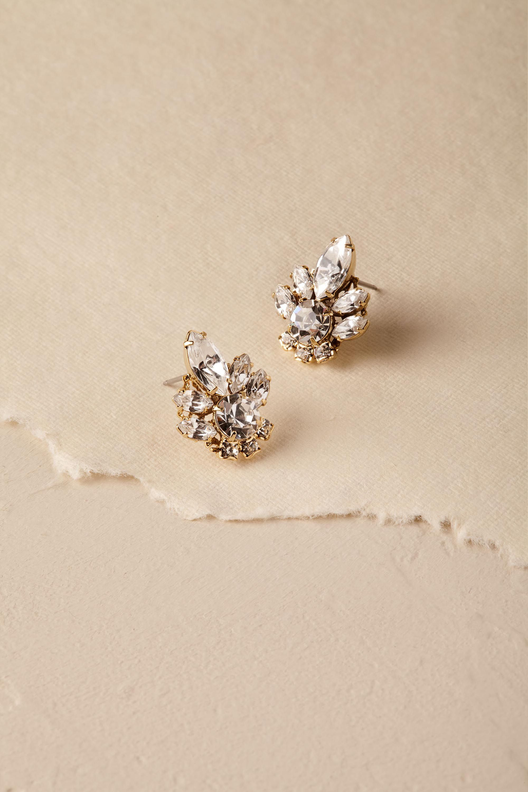 63338ce0c Charlene Crystal Stud Earrings in 2019 | SAY YES this Season to Ti ...
