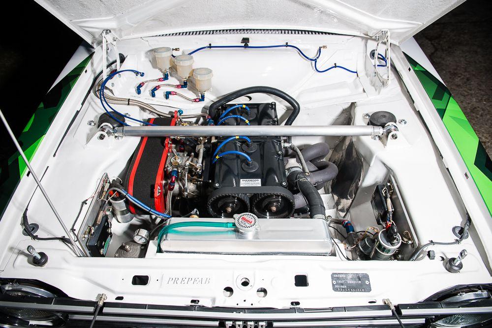 1977 Ford Escort Mk2 Escort RS1800 Gp4 Historic Rally Car engine ...