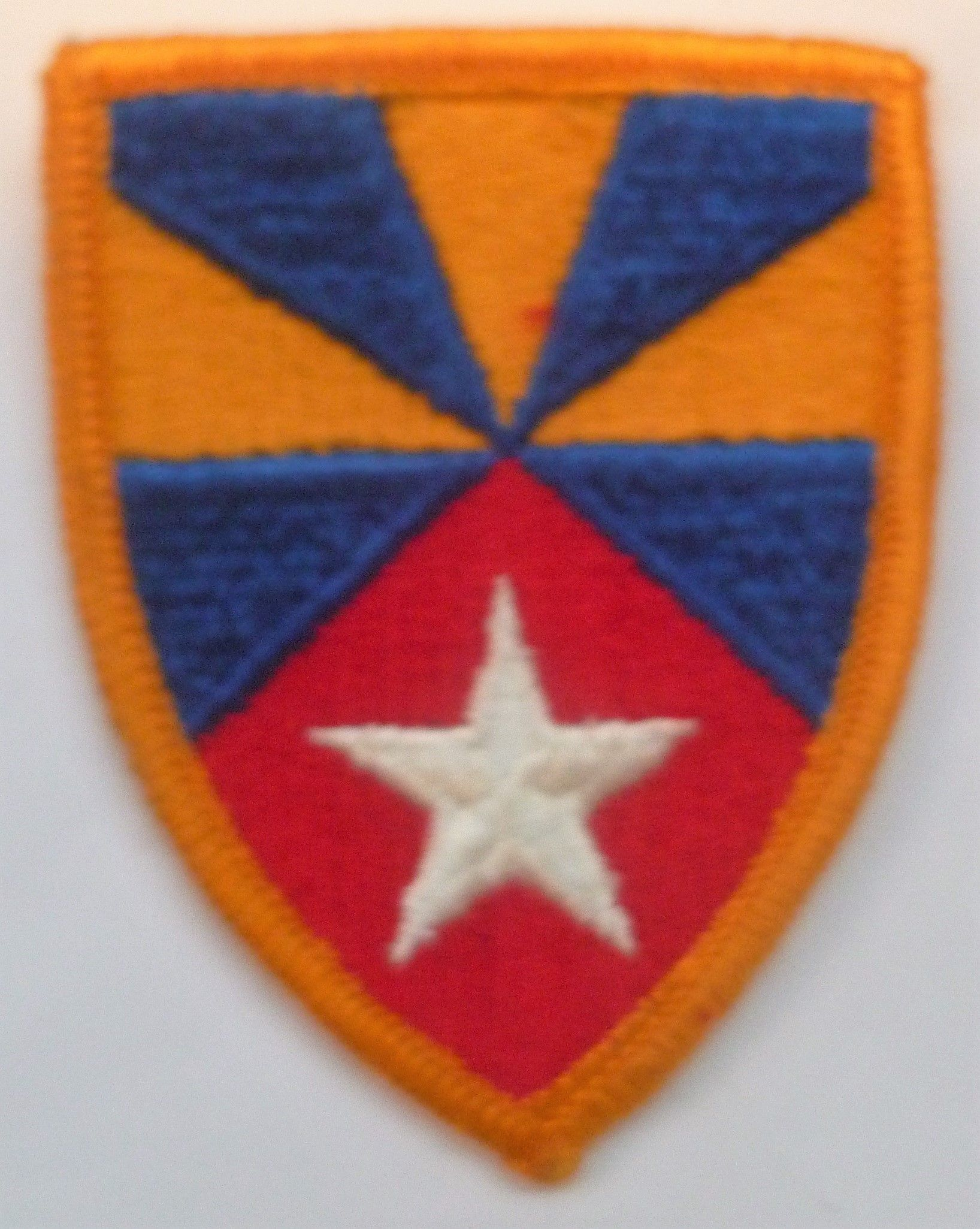 Army Airborne Command cloth sleeve patch America//American WWII U.S