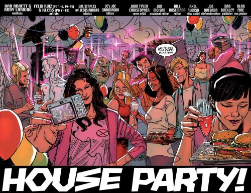 New Mutants House Party!