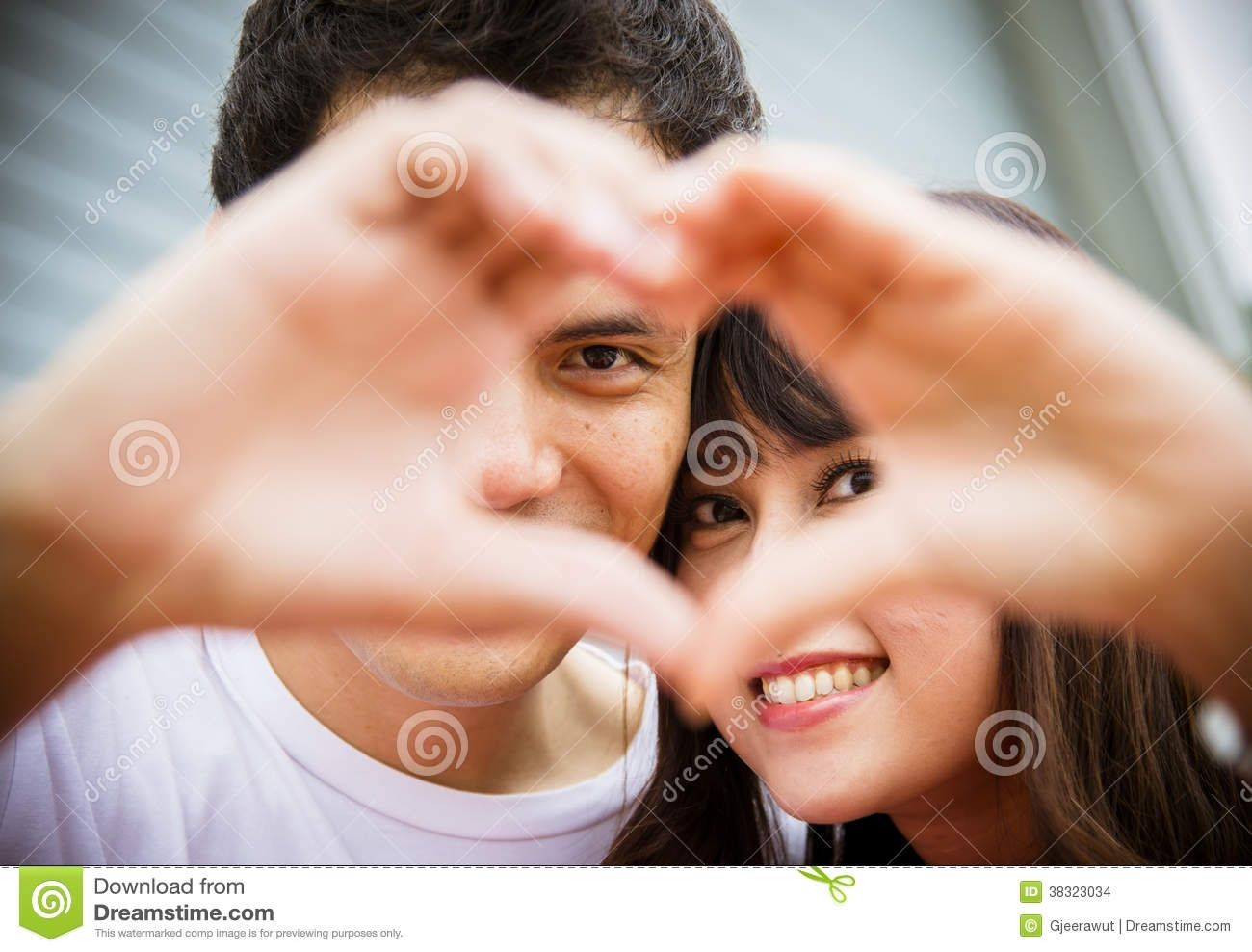 Best Lovely Images Of Love Couple Lovely Couple With Love Hand Sign Stock Images Image 38323034 I Love Couple Images Love Couple Wallpaper Trendy Wallpaper