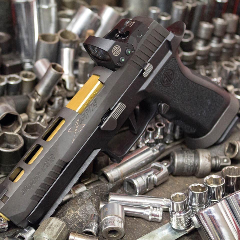 Sig P320 X5 | Sig P320 X5 | Sig p320, Hand guns, Guns
