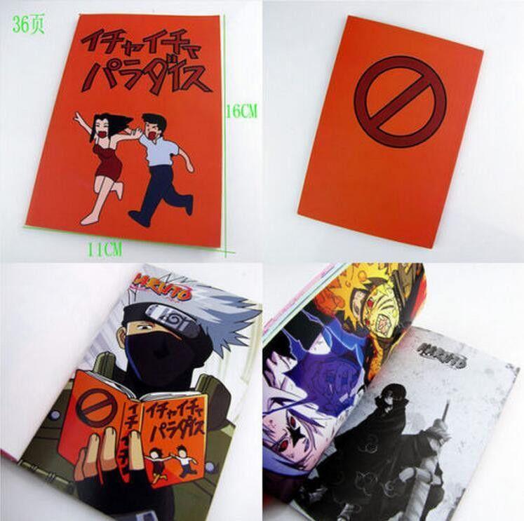 Naruto0 Kakashi Hatake Jiraiya Icha Icha Paradaisu Cosplay Book Notebook