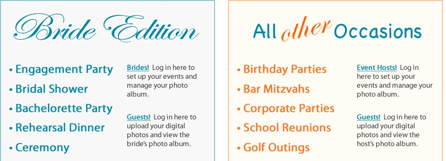 photo app for party guests sweet 16 Pinterest Wedding app