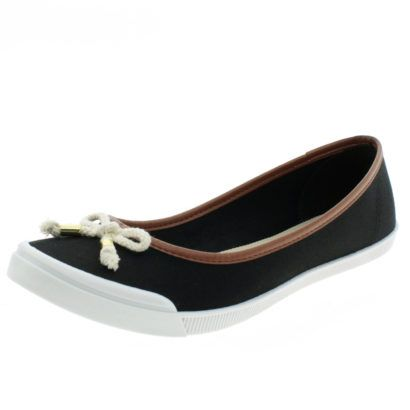 2a01a1a4d677a modelos de sapatilhas moleca preta com marrom   BALETAS   Sapatilhas ...