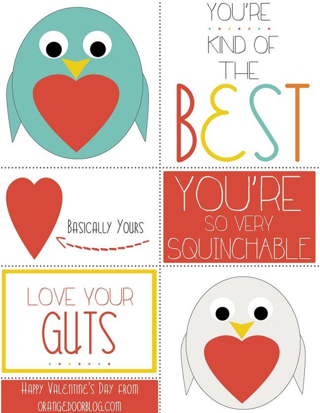 Free Valentine Printable, Bird on a tshirt maybe.