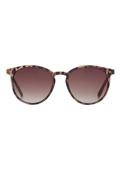 Lunettes de soleil Marron by MANGO Mango Bags, Round Frame Glasses, Round  Sunglasses, aced71f774ef