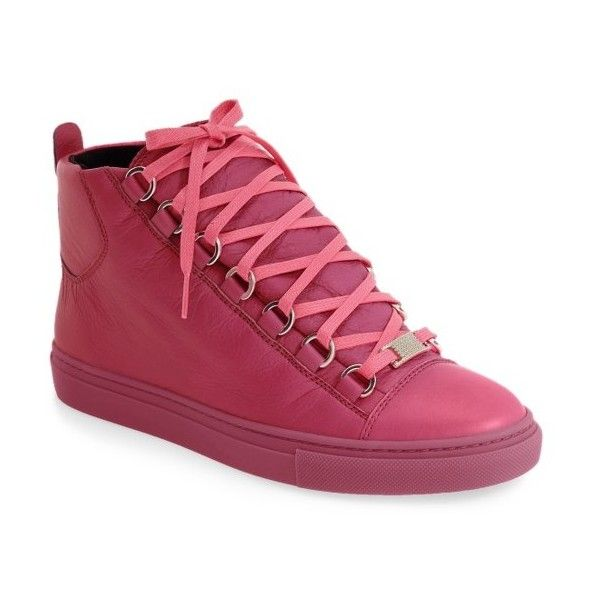 df7ff3ab107d Womens Balenciaga High Top Sneaker ( 650) ❤ liked on Polyvore featuring  shoes
