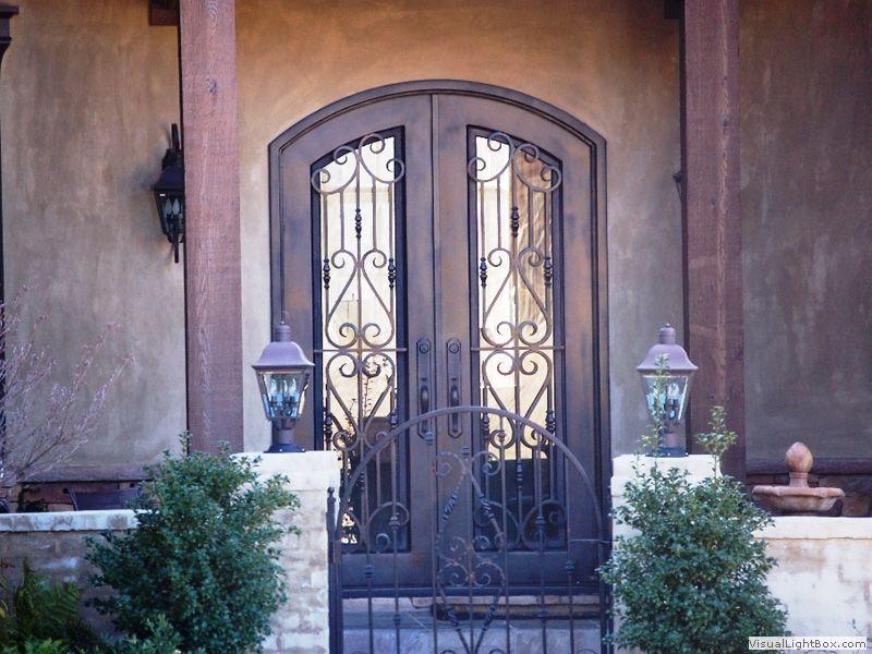 Door Exchange   Castle Entry Iron Door C123