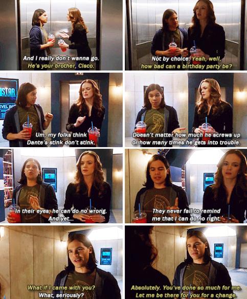 The Flash - Cisco & Caitlin #1x16 #Season1
