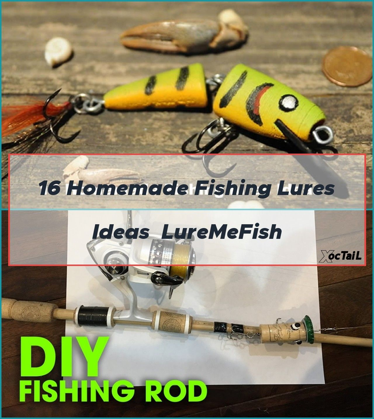 how to make fishing lures on a wood lathe