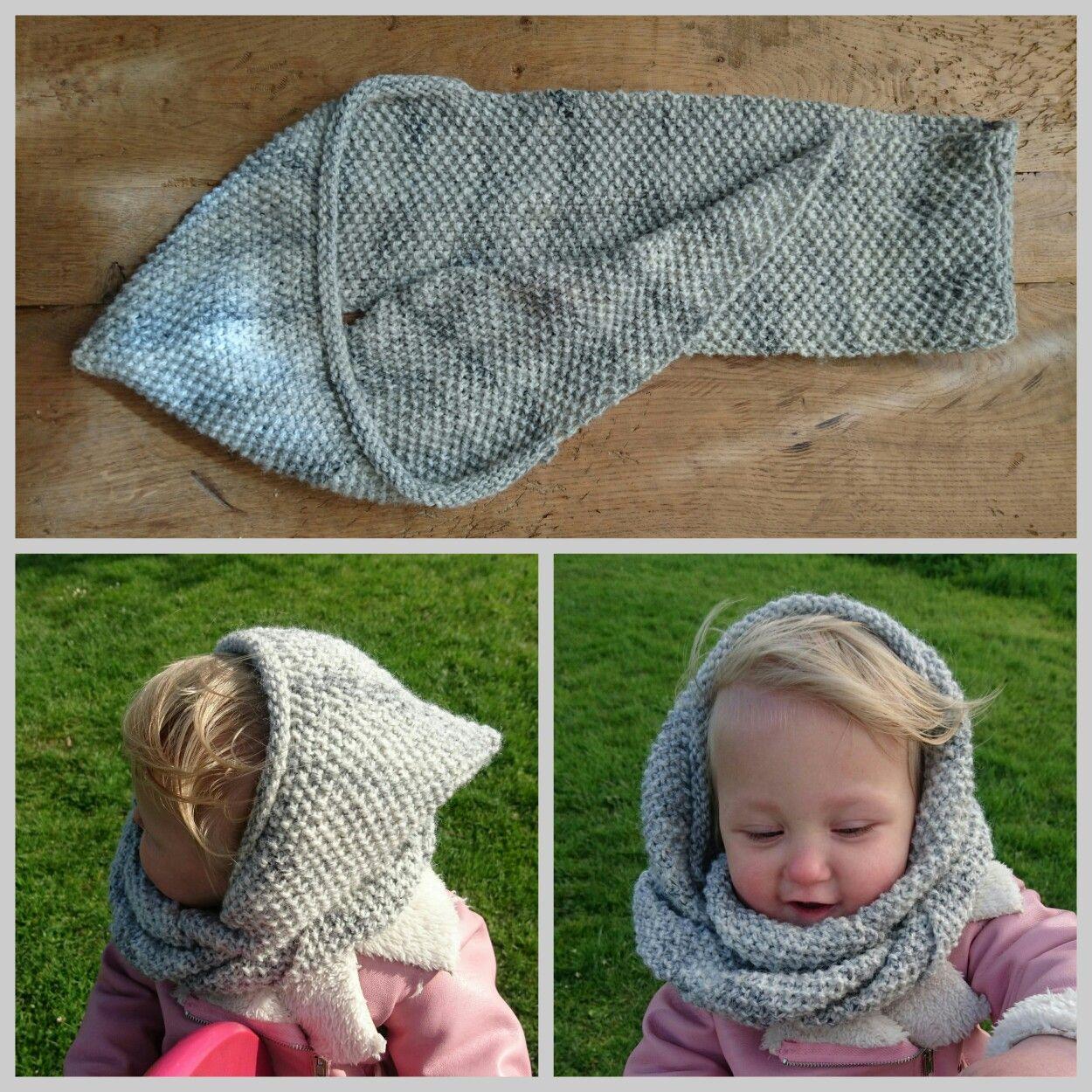 Knit scoodie, mevr Snoeshaan | Szydełko | Pinterest | Loom knitting ...