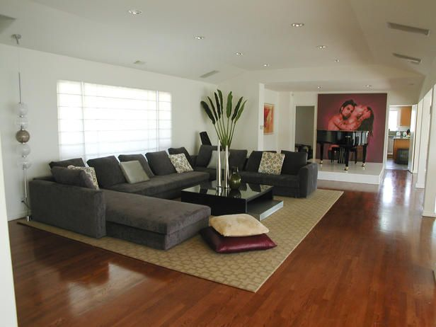 Awesome Decorating Living Room With Sectional Sofa Photos ...