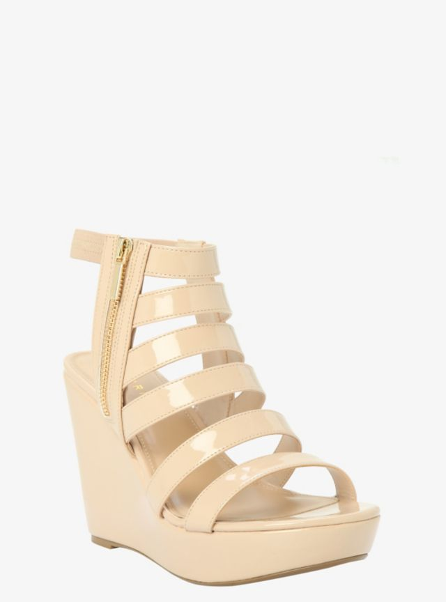 97f82a2651b8 This contemporary sandal gives a stylish ride. In a versatile nude