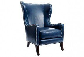 Good Navy Blue Leather Chair Best 53 Interior Designing Home Ideas