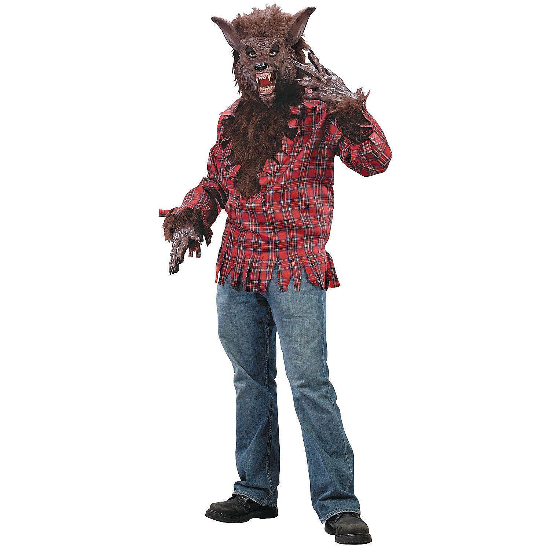 Mens brown werewolf costume oriental trading werewolf