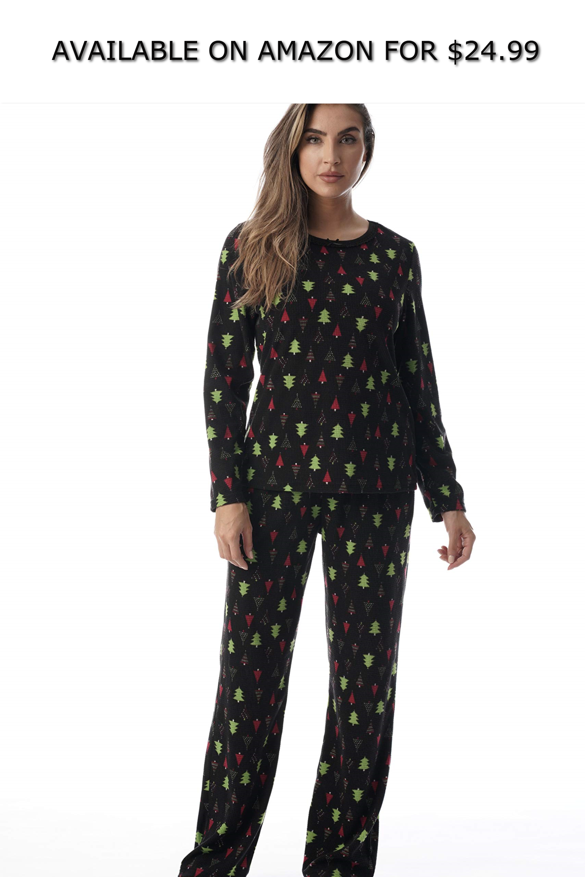 Just Love Thermal Fleece Pajamas for Women AVAILABLE ON
