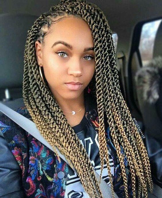 40 Crochet Braids With Human Hair #crochetbraids