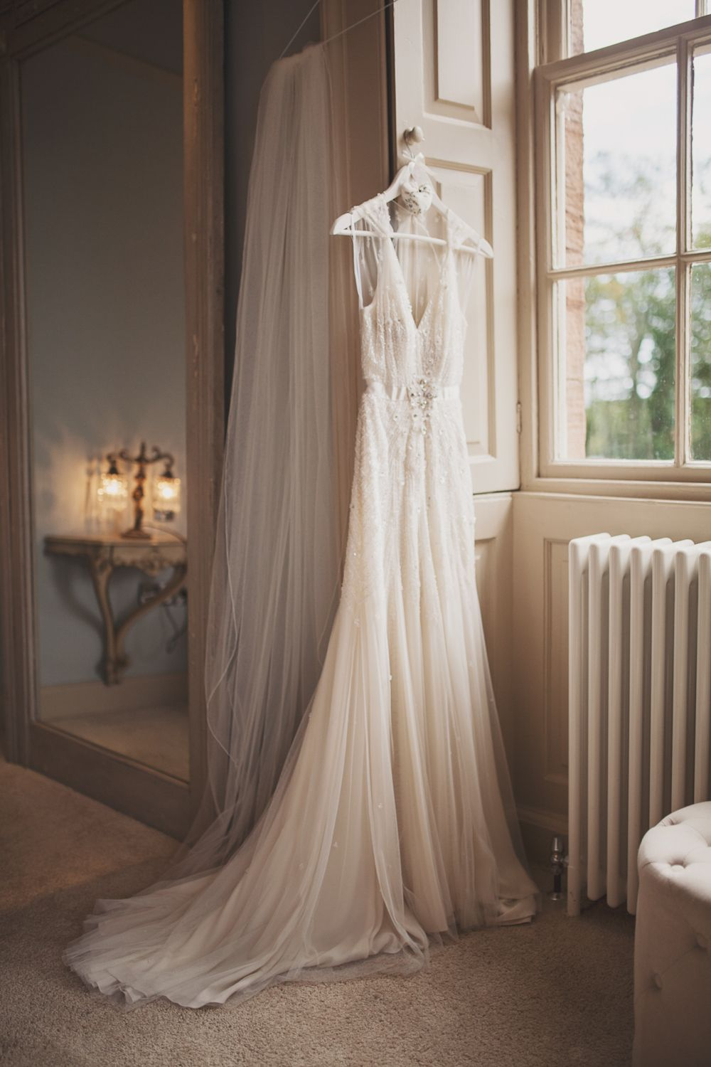 Jenny Packham \'Willow\' gown for a beach wedding at Newton Hall in ...