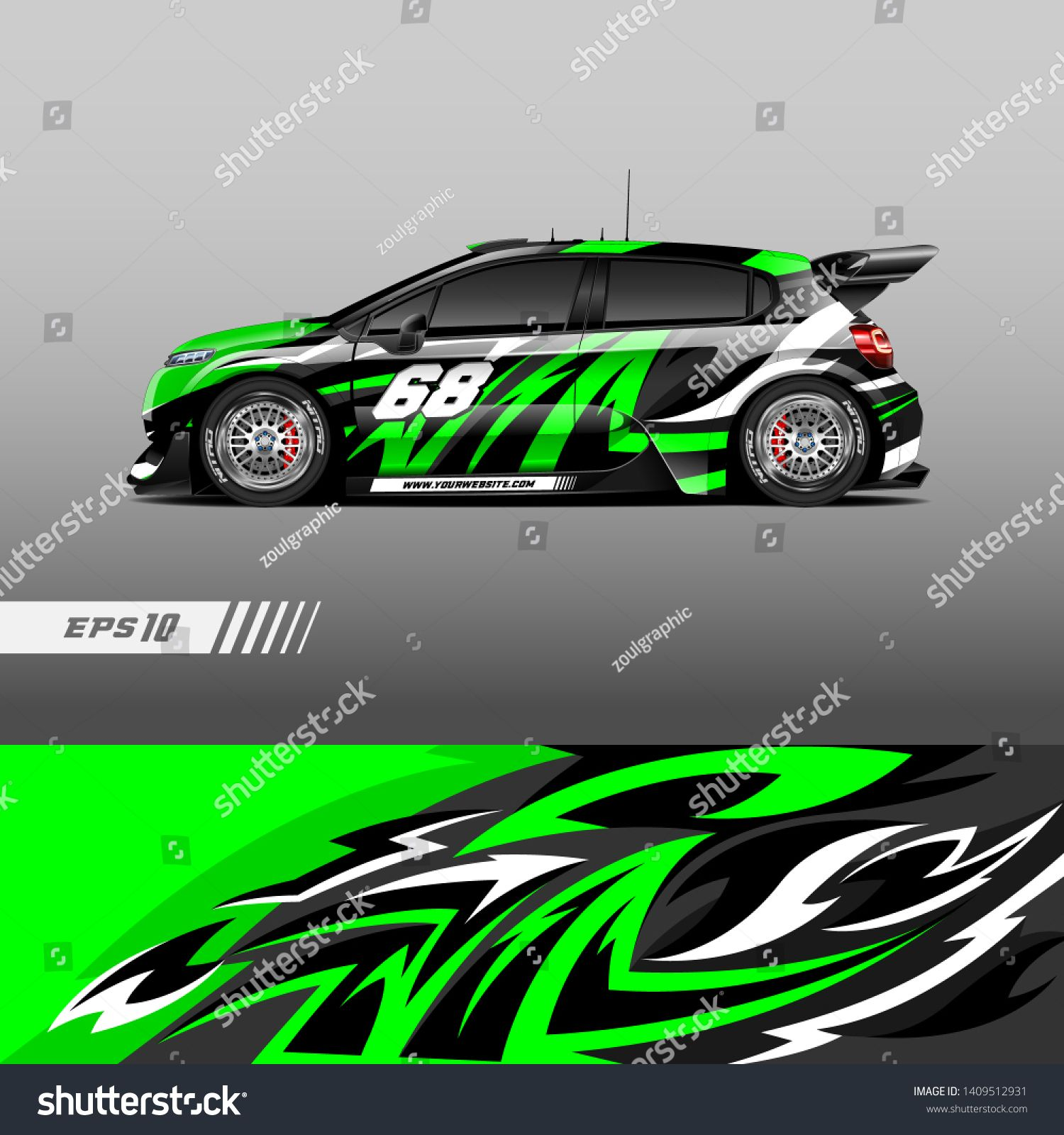 Car Decal Wrap Design Vector Graphic Abstract Stripe Racing Background Kit Designs For Wrap Vehicle Race Car Rally Adventure Car Decals Car Car Wrap Design [ 1600 x 1500 Pixel ]