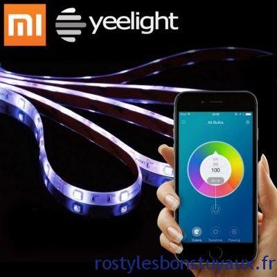 Ruban Led Connecté Multicouleur Xiaomi Yeelight Smart Light Strip