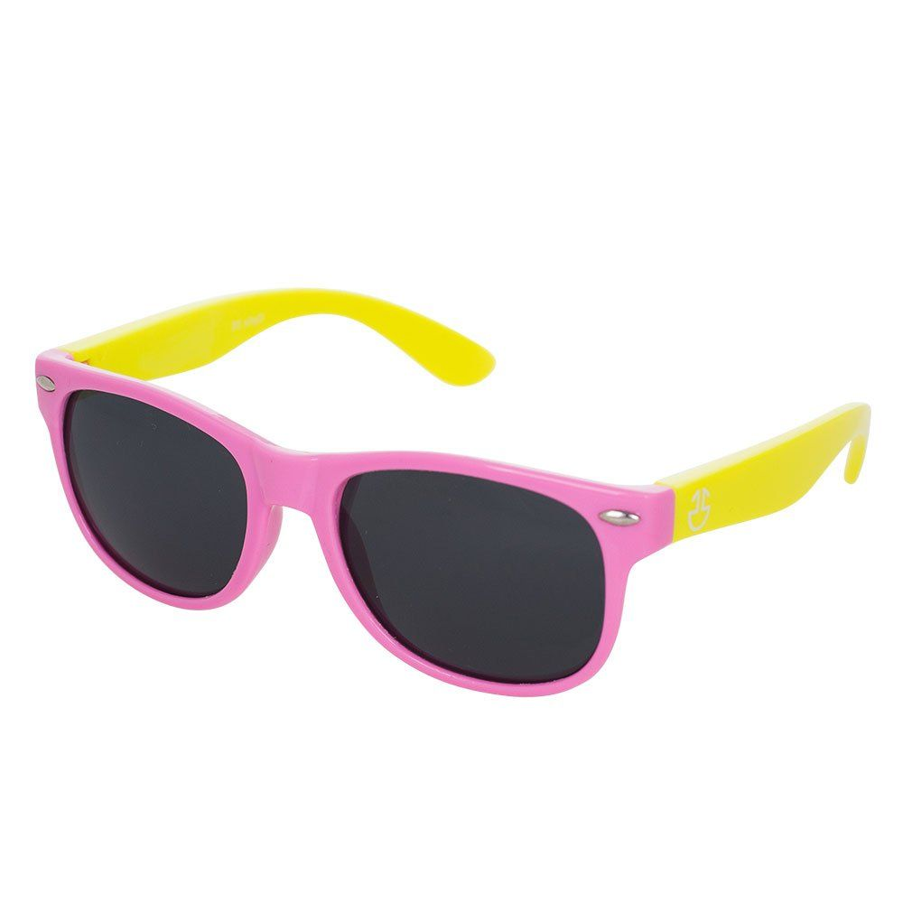 36ad17a98f Flexible Rubber Kids Sunglasses for Boys and Girls - Bendable Unbreakable  Silicone Gel Wayfarer Frame with