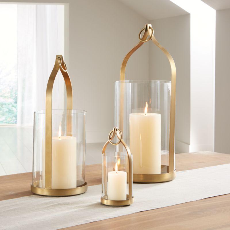 Priya Brass Lanterns Crate And Barrel Brass Lantern Brass Decor Candle Decor