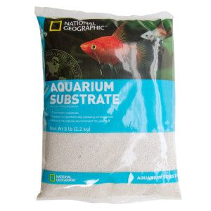 National Geographic™ Aquarium Sand Gravel & Sand