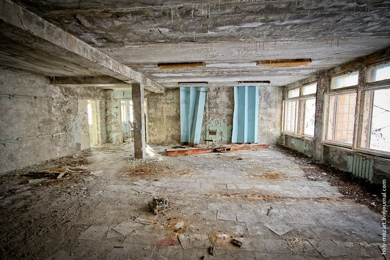 Priryat, the city abandoned after the Chernobyl disaster