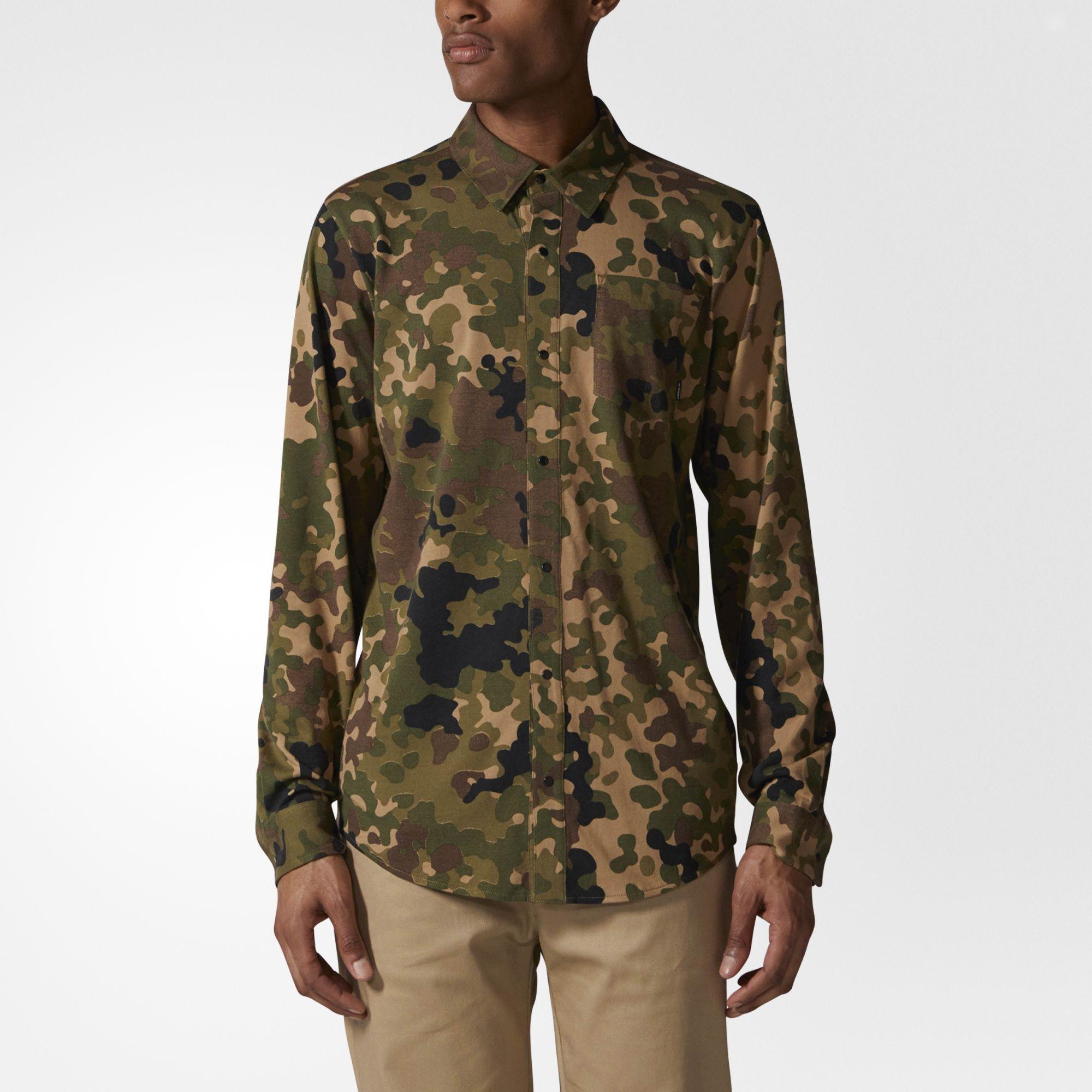 Flex Camouflage Shirt | Men's Fashion & Style | Camo shirts