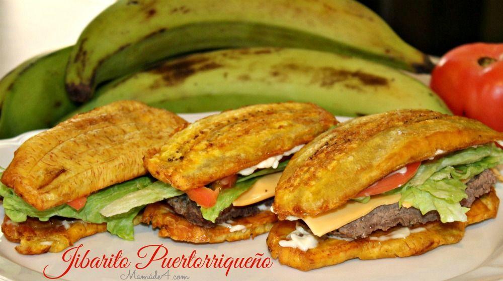 Receta: Jibarito Puertorriqueño Este delicioso sándwich hecho con plátano verde puedes realizarlo con la carne de su preferencia. Una deliciosa receta para que sorprendas a tu familia e invitados.