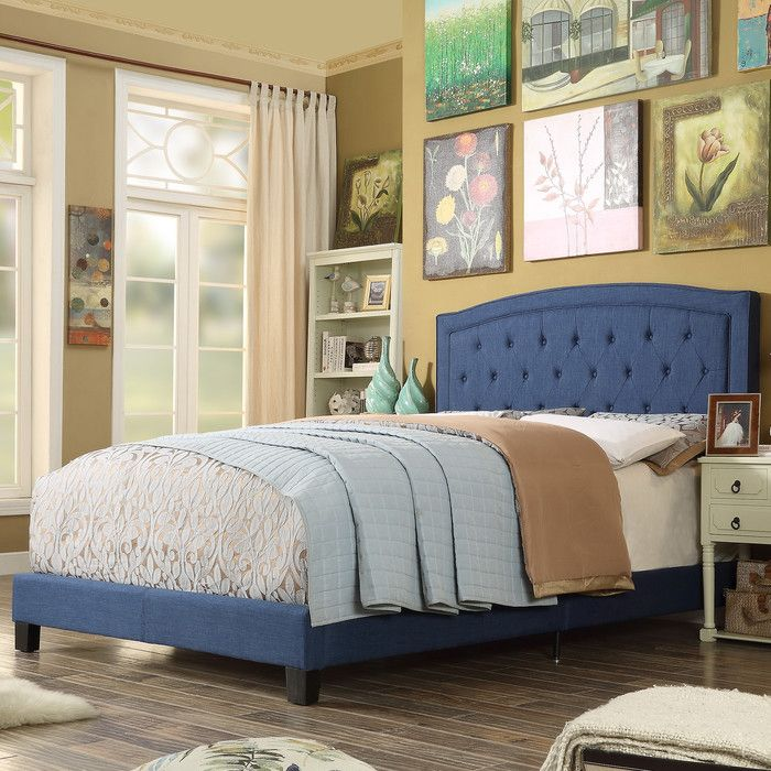 www.wayfair.com Mulhouse-Furniture-Gabriel-Upholstered-Panel-Bed ...