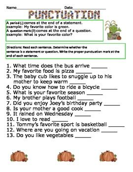 punctuation worksheet classroom ideas for 3rd grade punctuation worksheets punctuation. Black Bedroom Furniture Sets. Home Design Ideas