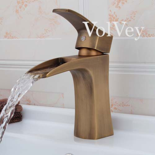 Volvey Waterfall Bathroom Sink Faucets With Its Fresh Collections And  Simple Strategy, This Faucets Gives