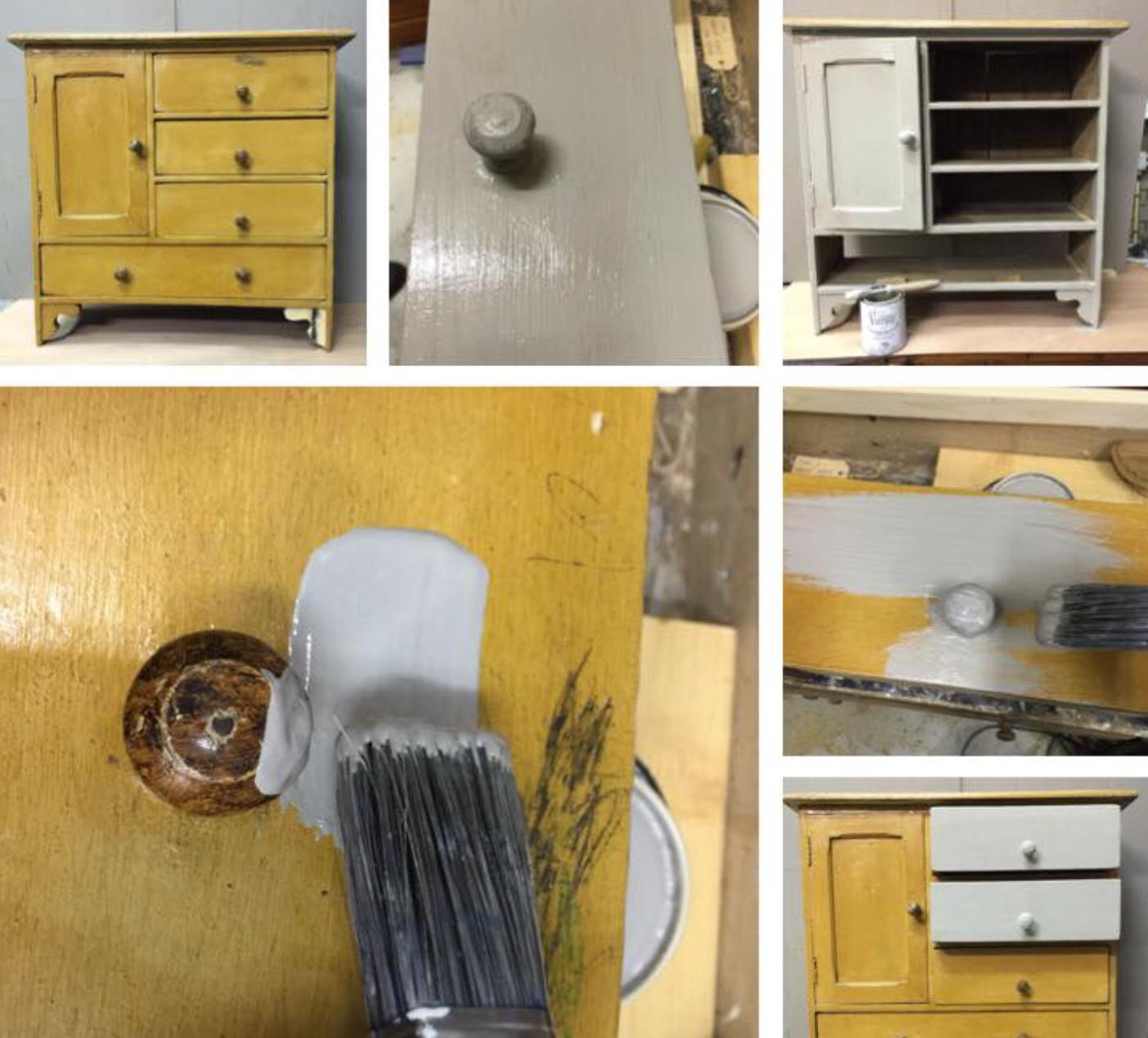 rinnova vecchi mobili ridipingendoli tutti o in parte con la ...