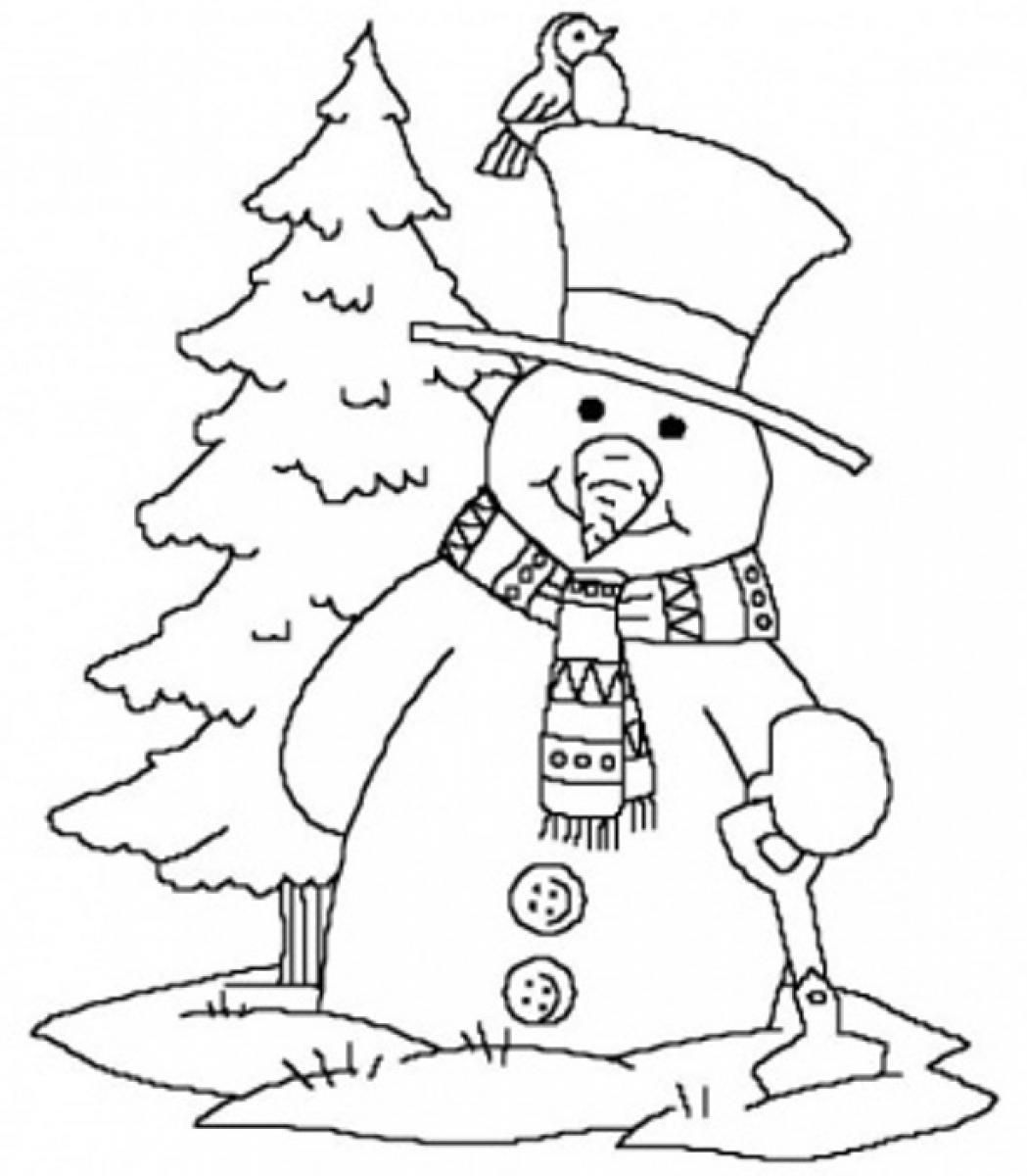 whether it is winter or not winter theme coloring pages would be real fun to