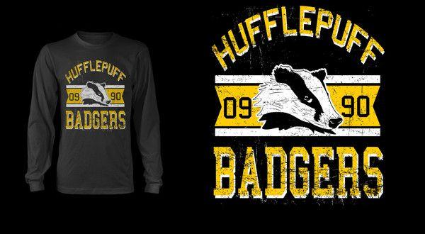 Hufflepuff Badgers Pop Up Tee