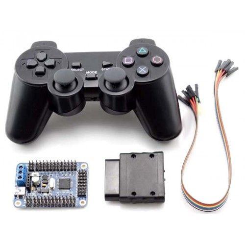 Wireless Ps2 Controller 32 Channel Servo Motor Driver Robomart Wireless Wireless Controller Motor