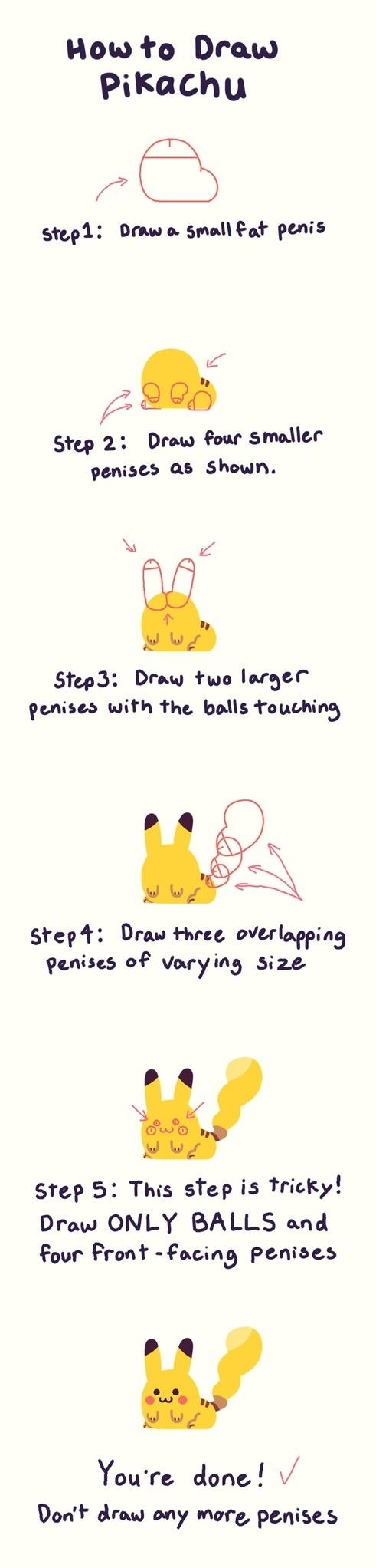 How to draw Pikachu | silly stuff | Funny drawings, Drawings