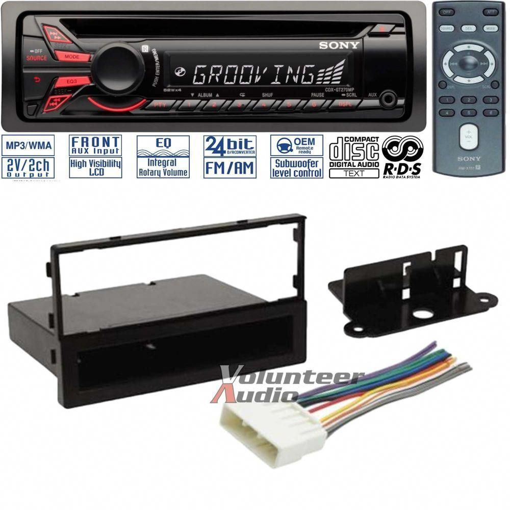 Sony Car Stereo Installation Kit 79 99 Homeaudioinstallation Car Stereo Installation Media Room Design Home Theater Installation
