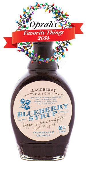 Blackberry Patch - Premium 3-Ingredient Blueberry Syrup