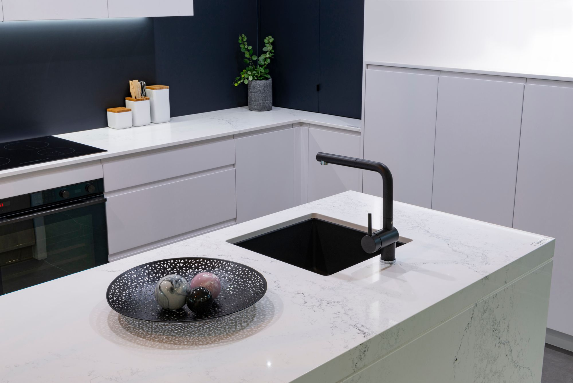 The New Caesarstone Empira White Kitchens For Living Create A