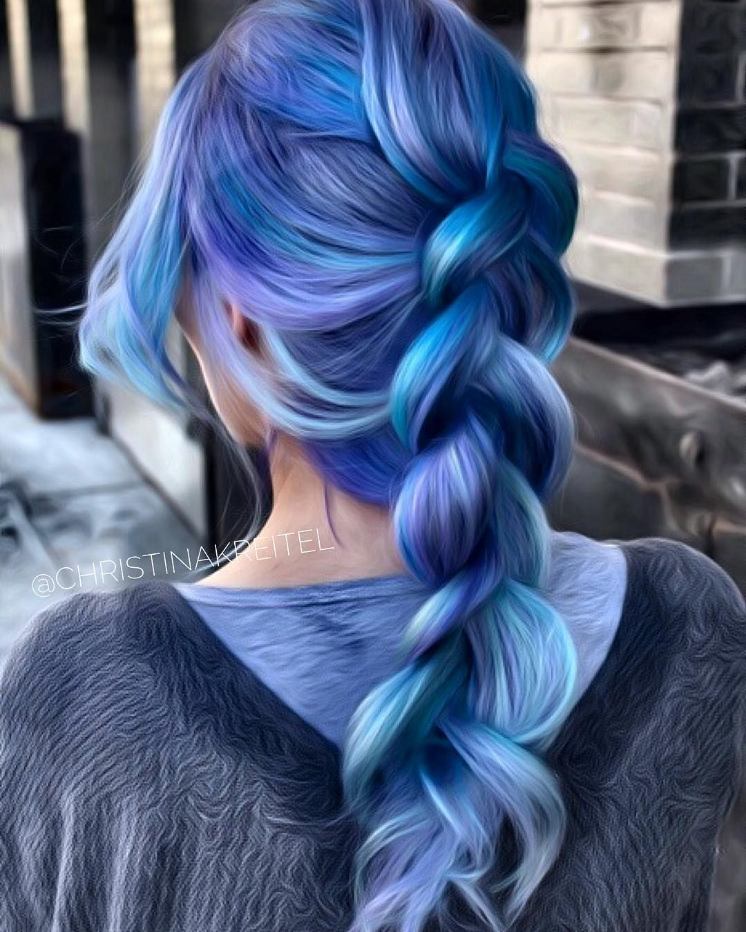 App To Try Hairstyles: Pin By Sunny On AHHH BRAID BLUE In 2019