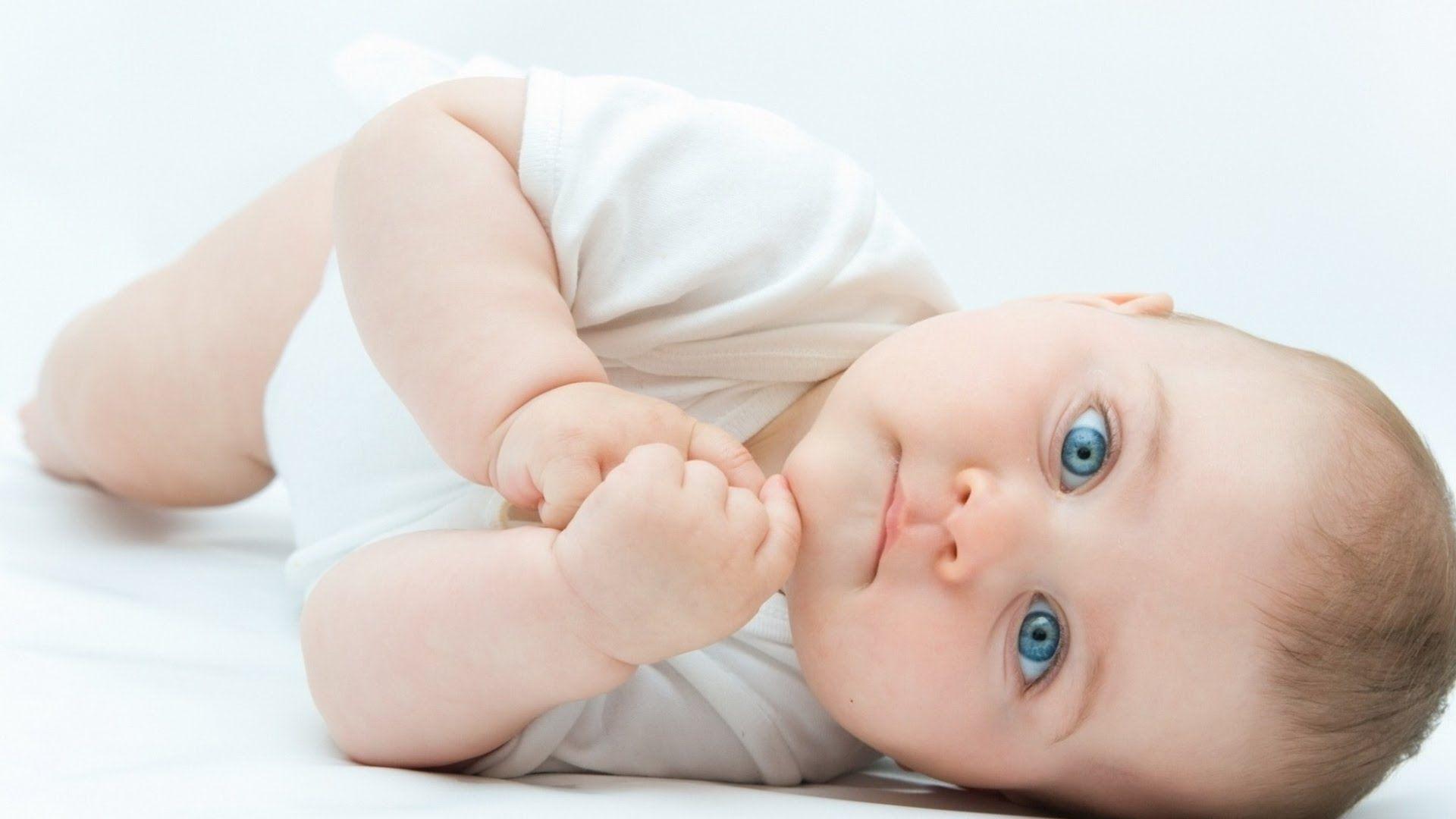 Cute Baby With Blue Eyes Bayi Gadis Kecil Obat Alami