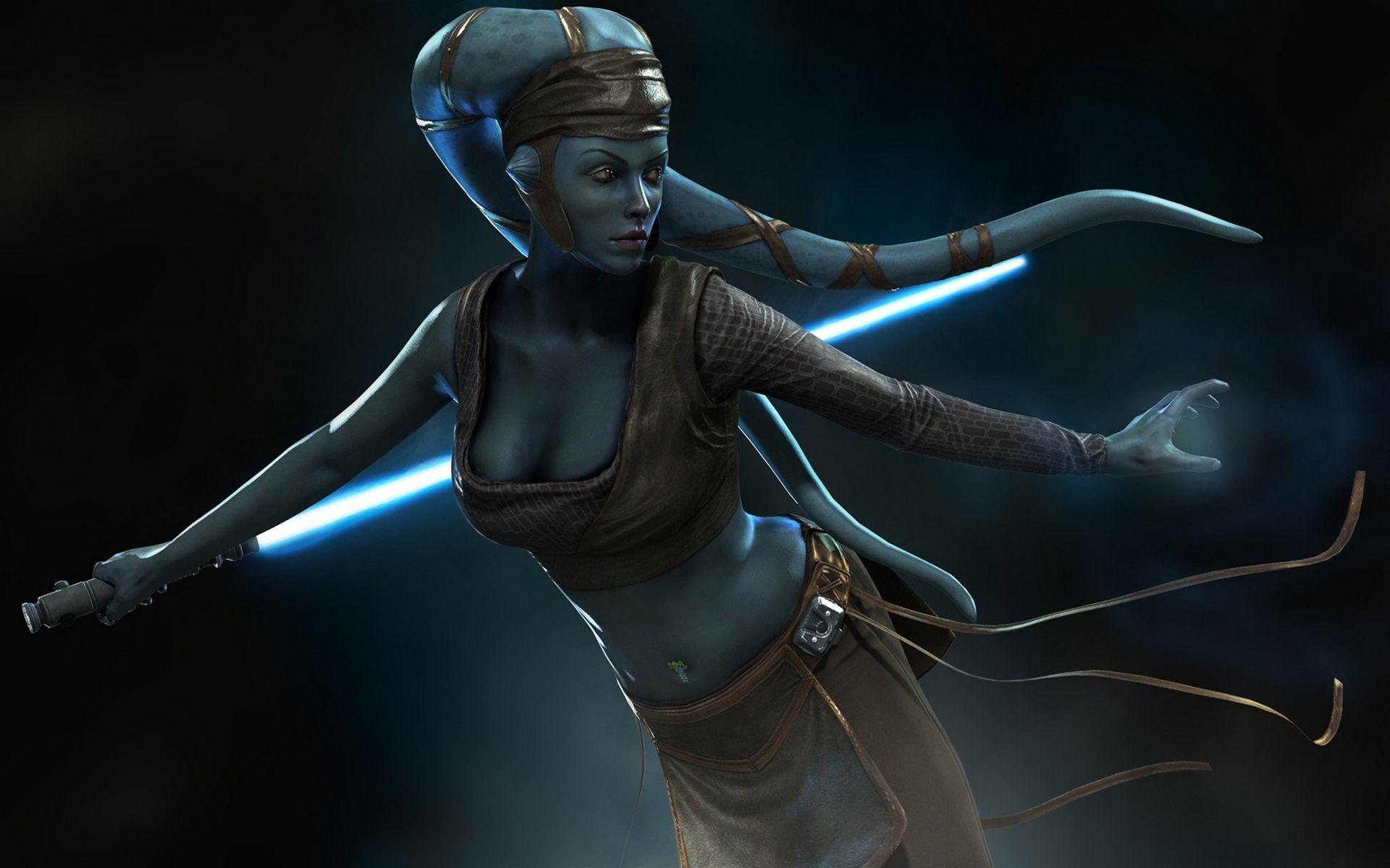 Fantasy Alien Women And Men Star Wars Warriors Aliens