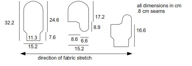 fleece mitten pattern   mittens pattern   Crafts - Sewing - MITTENS ...
