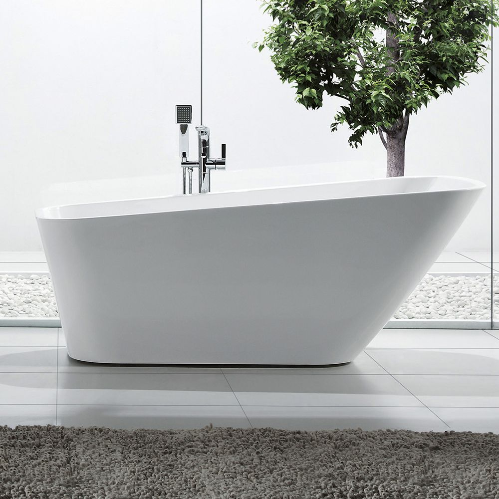 Jade Bath BLW1865 French Riviera Vivianne Freestanding Soaker Tub ...