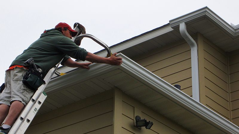 Leaf Solution A Type Of Gutter Guard Gutter Guard How To Install Gutters Gutters