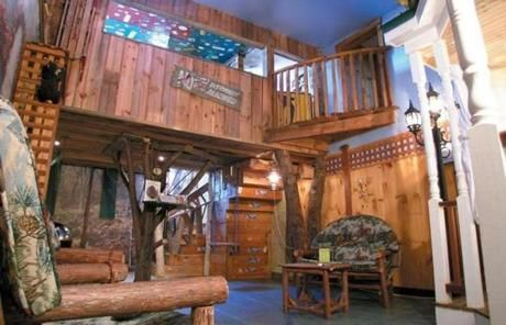 Pix For > Kids Treehouse Bedroom | Indoor Playhouse | Pinterest ...